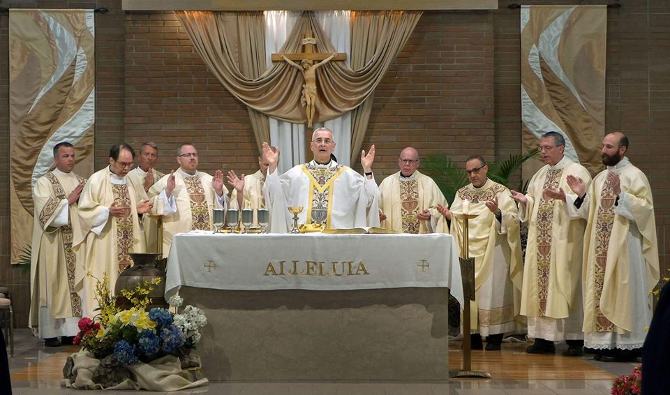 Mass for Groundbreaking of new Elementary School