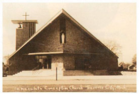 New Immaculate Conception Church, 1953