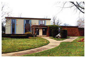 Current rectory, built in 1969